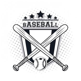 Icône de joueur de baseball