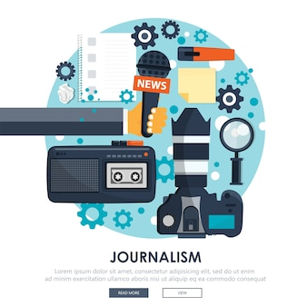 Icône de journalisme