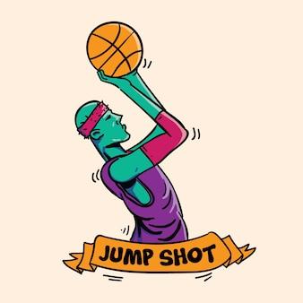Icône jump shot