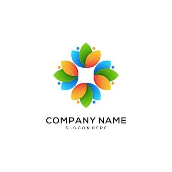 Icône logo naturel