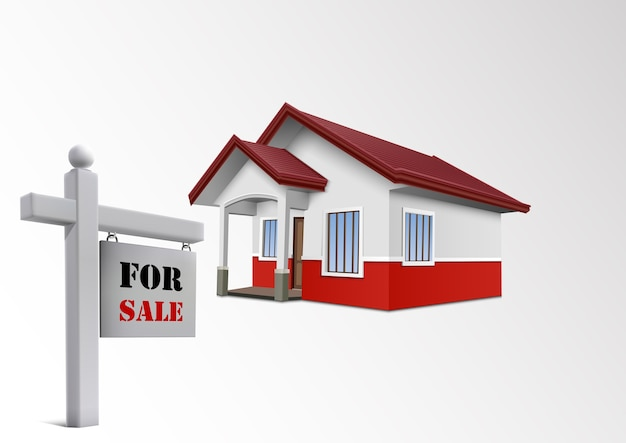 Icône de la maison à vendre