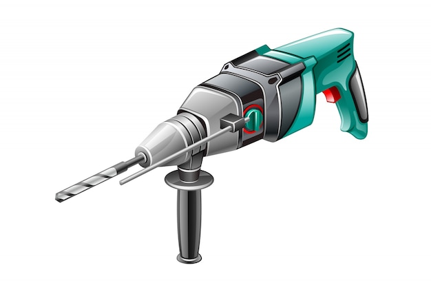 Icône de marteau rotatif