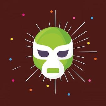 Icône de masque de lutteur