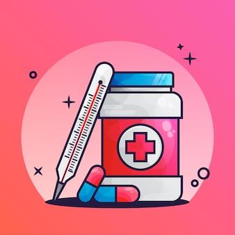 Icône de médicament médical