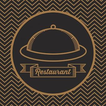 Icône de menu restaurent food