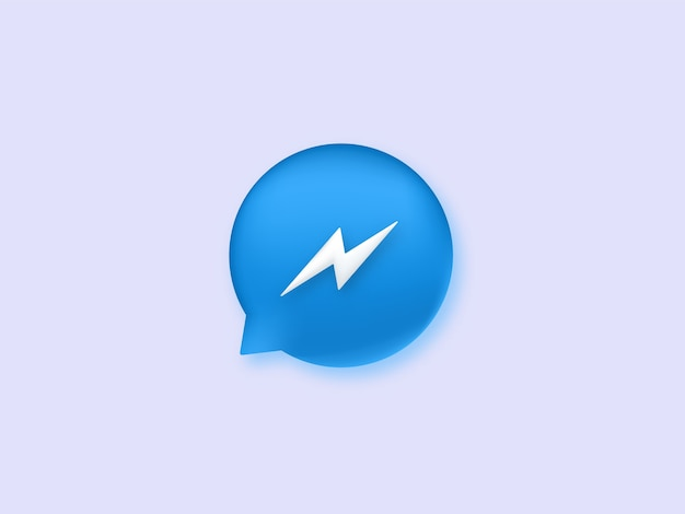 Icône de messager.