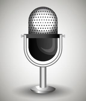 Icône de microphone