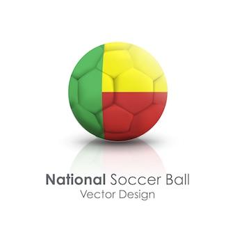 Icône de la nation round play national