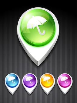 Icône parapluie