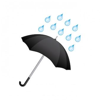 Icône de parapluie