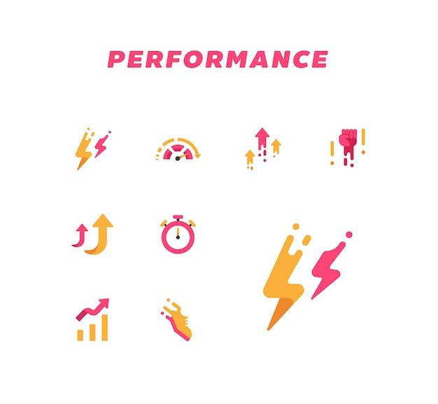 Icône de la performance
