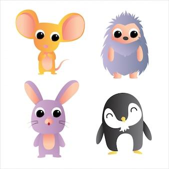 Icône de personnage d'animaux