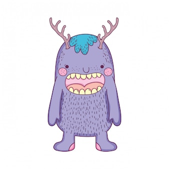 Icône de personnage de monstre de conte de fées