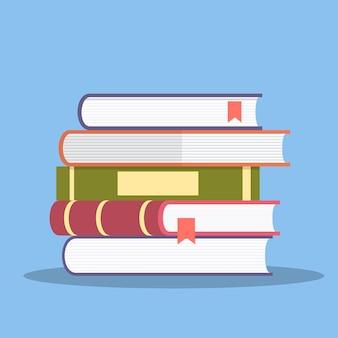 Icône de pile de livres.