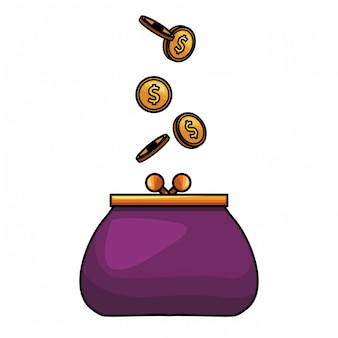 Icône de porte-monnaie
