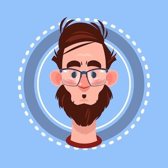 Icône de profil avatar de sexe masculin