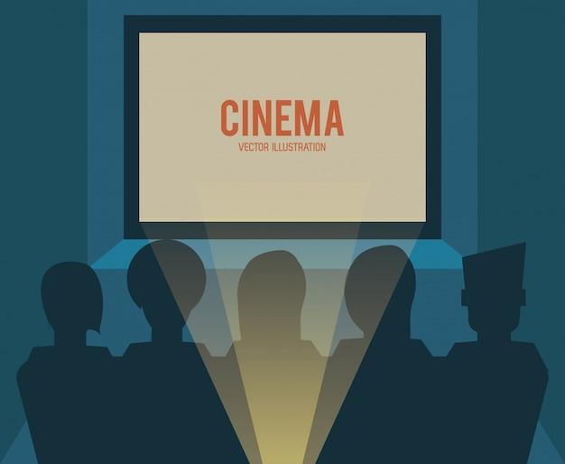 Icône de salle de cinéma cinéma