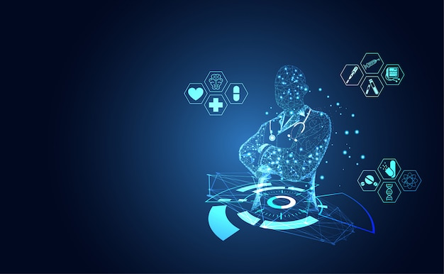 Icône de santé médicale abstraite santé