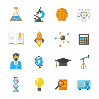 Icône de la science et de la recherche