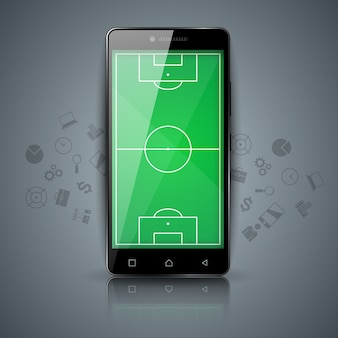 Icône de smartphone.