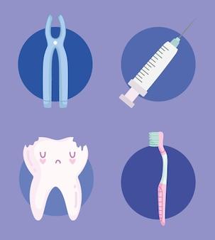 Icône de soins dentaires