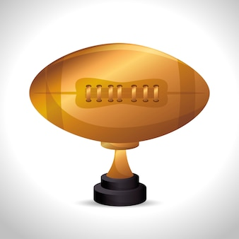 Icône de sport de football américain
