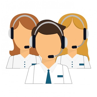 Icône technique des assistants de support