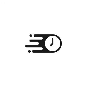 Icône de temps rapide