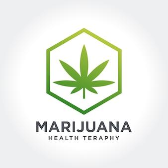 Icône de thème de la marijuana