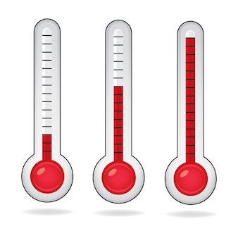 Icône de thermomètre.