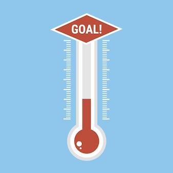 Icône de thermomètres