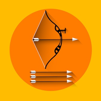 Icône de tir à l'arc