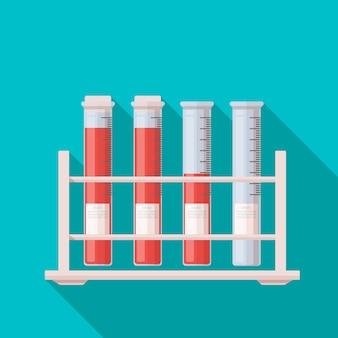 Icône de tubes à essai