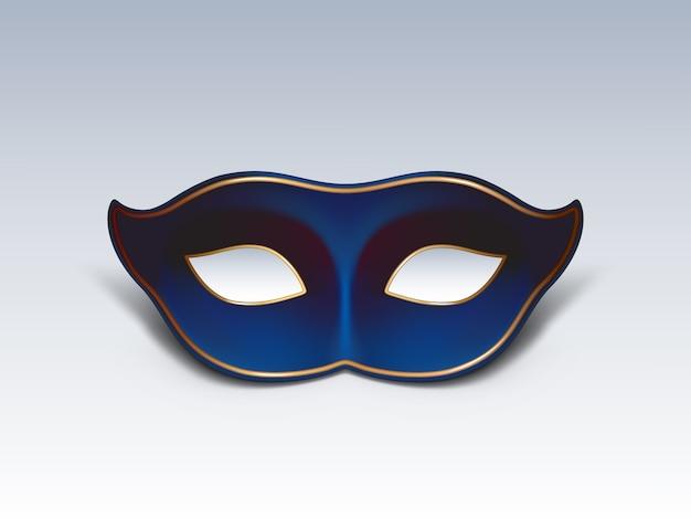 Icône de vecteur réaliste 3d masque masque colombina