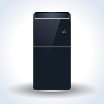 Icône de vecteur réaliste réfrigérateur maison