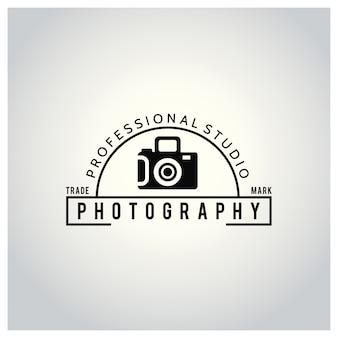 Icône vectorielle noire pour les photographes icône de caméra