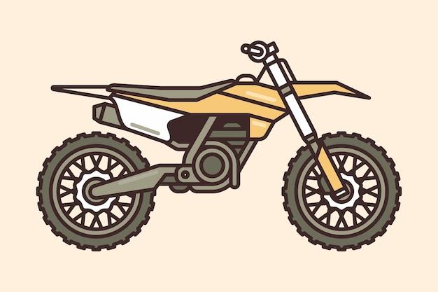 Icône de vélo de motocross
