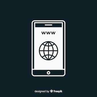 Icône www