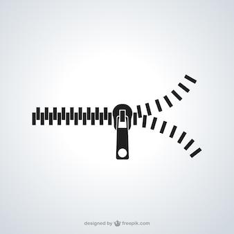 Icône zipper