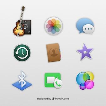 Les icônes d'application iphone