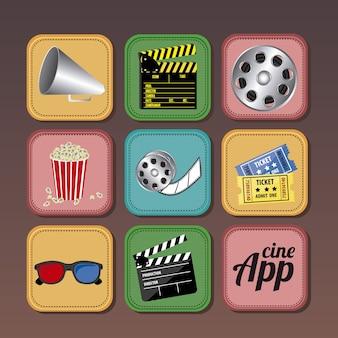 Icônes d'application