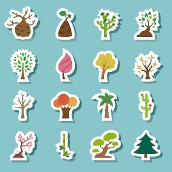 Icônes de l'arbre