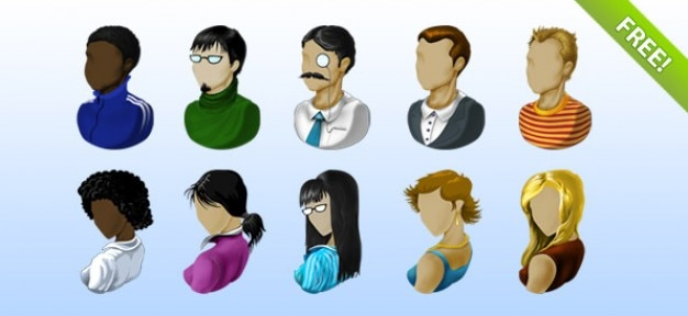 Icônes avatar gratuit