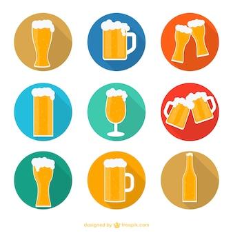 Icônes de bière