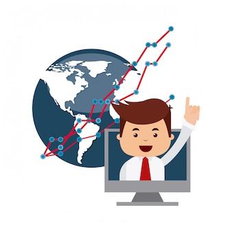 Icônes boursières internationales