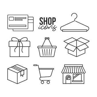 Icônes de la boutique
