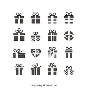 Icônes cadeaux