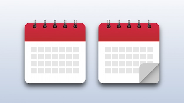 Icônes de calendrier