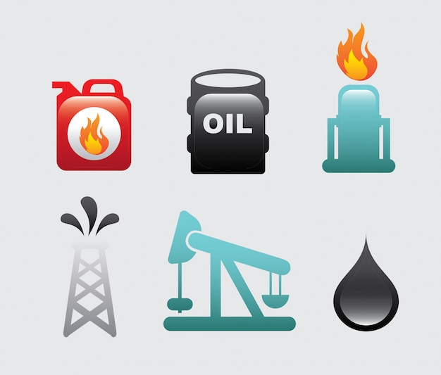 Icônes de carburant