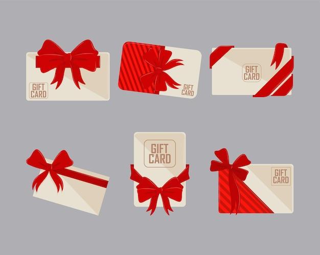Icônes de cartes-cadeaux